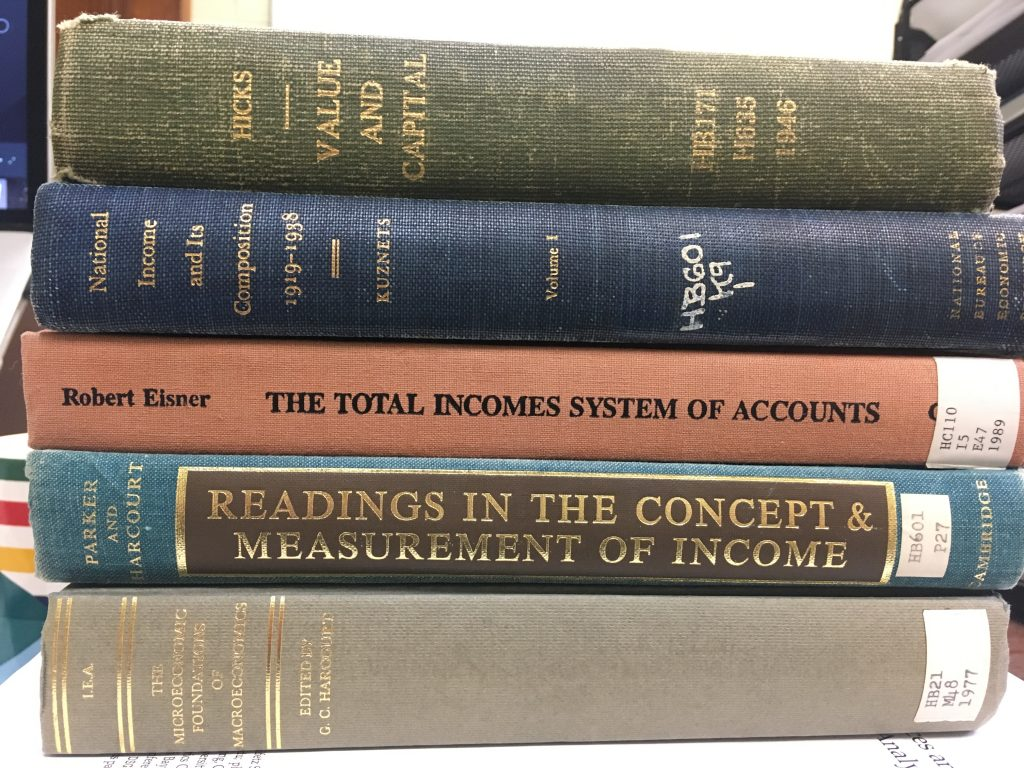 The Bibles of National Accounting.